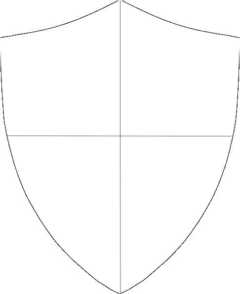 School Shield Template Shield Template Blank Work Ideas Pinterest Clip Art