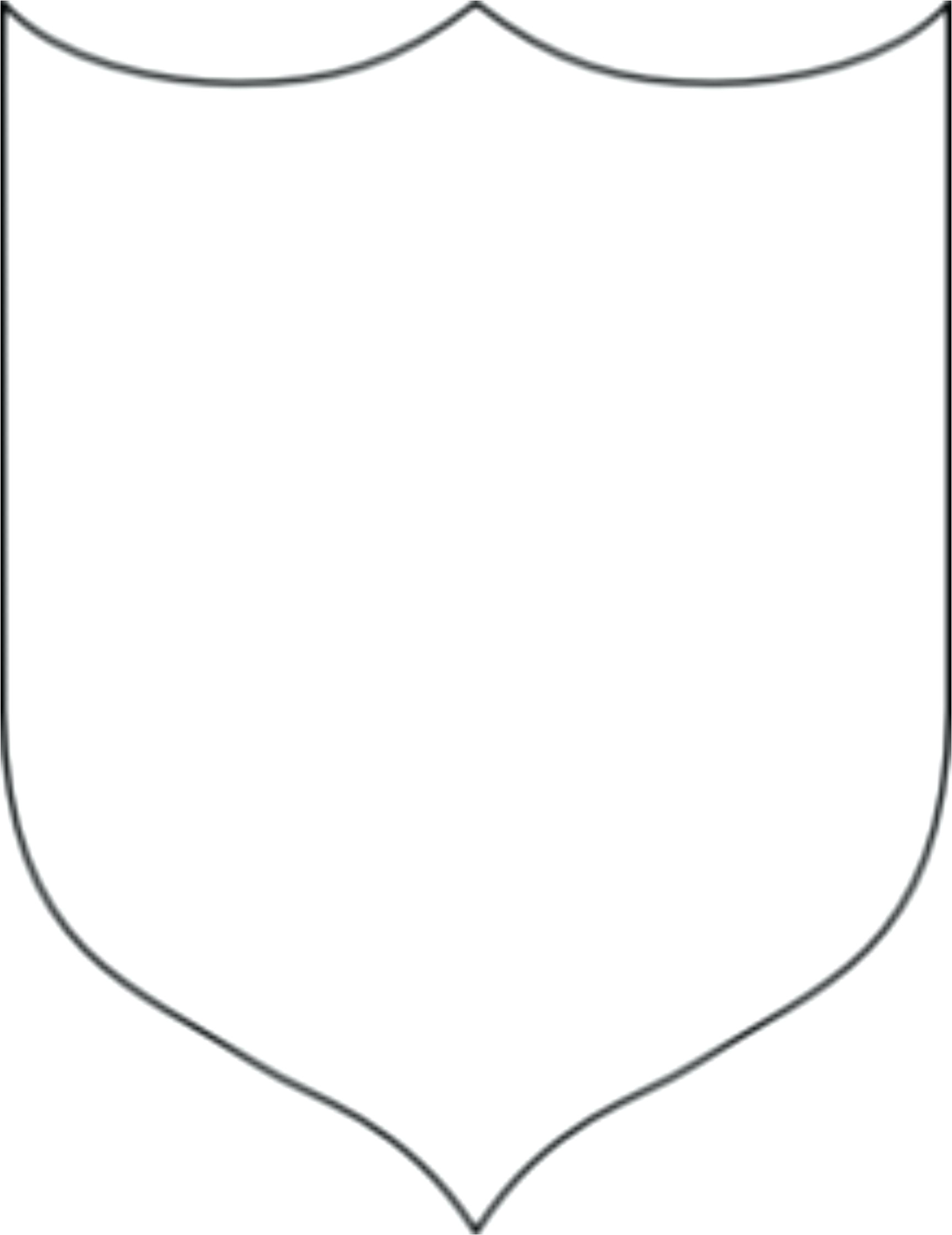 School Shield Template Template School Crest Template