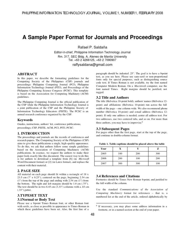 Sciencedirect Latex Template Enchanting Latex Journal Template Image Example Resume