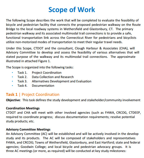 scope of work template