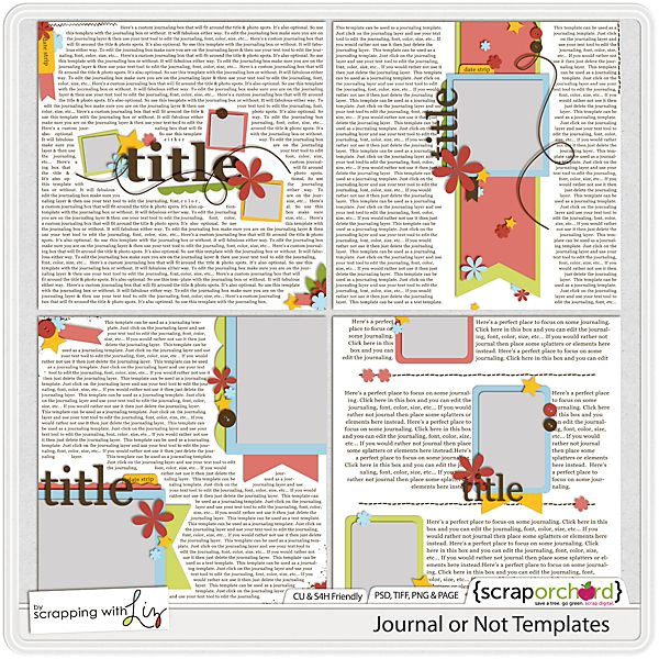 Scrapbook Journaling Templates 17 Best Images About Digital Scrapbook Tutorials and More