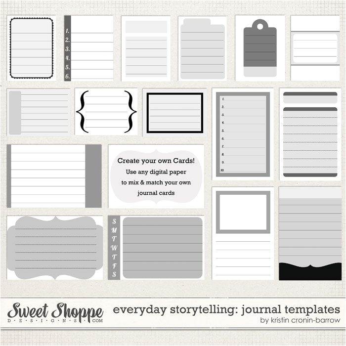 Scrapbook Journaling Templates 9 Best Images Of Smash Book Printable Templates Smash