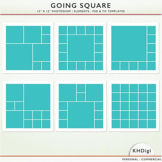 digital scrapbook templates 12 x 12 psd