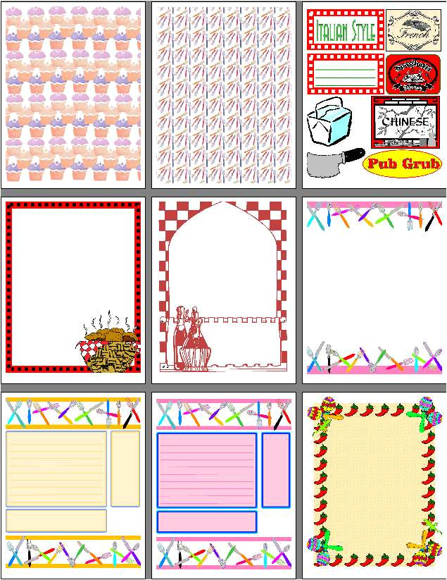 post scrapbooking printable cutouts 44718