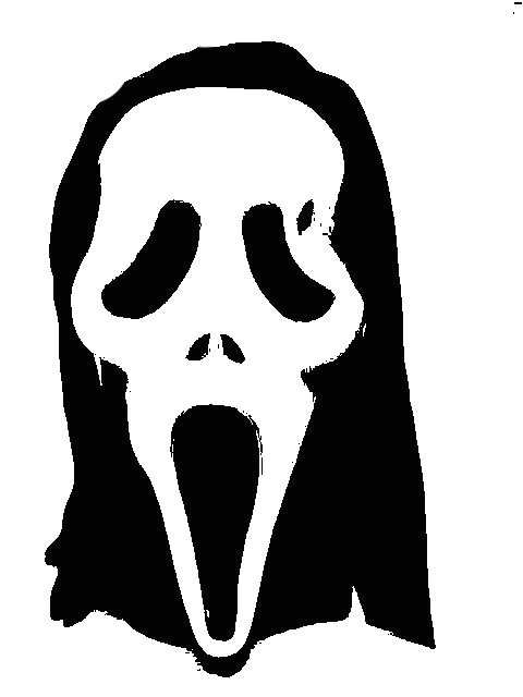 collectionsdwn scream stencil