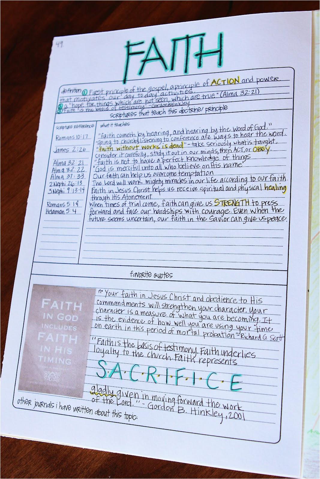 scripture journal tutorial part 3