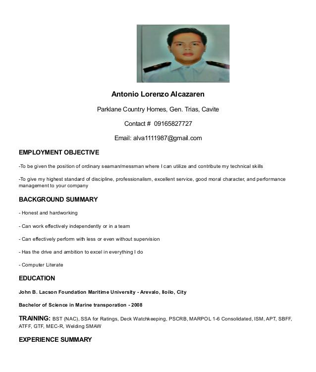 my resume 20581310