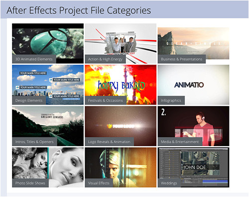 sell effects templates microstock sites