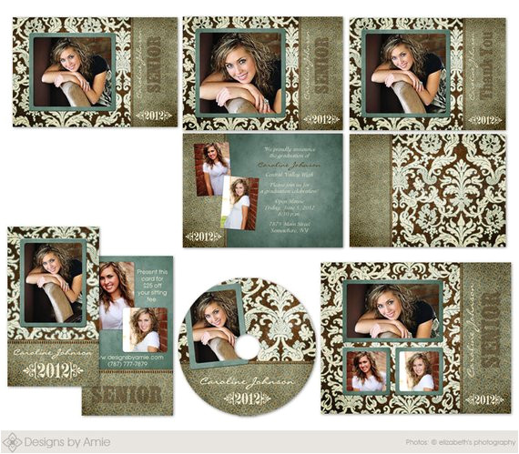uptown photo senior graduation template