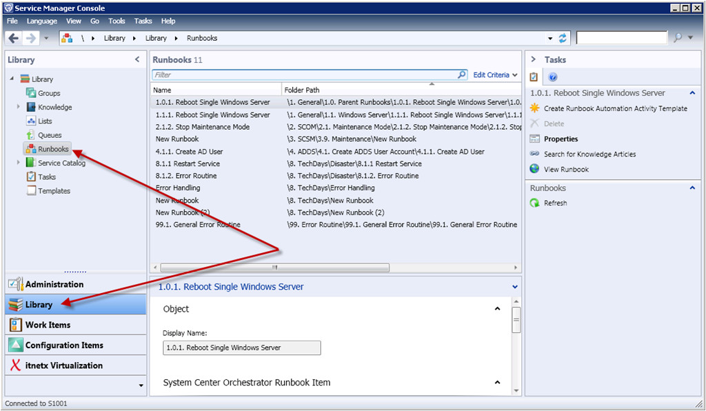 Server Runbook Template News In Scsm12 Beta 3 Automation Of Service Requests