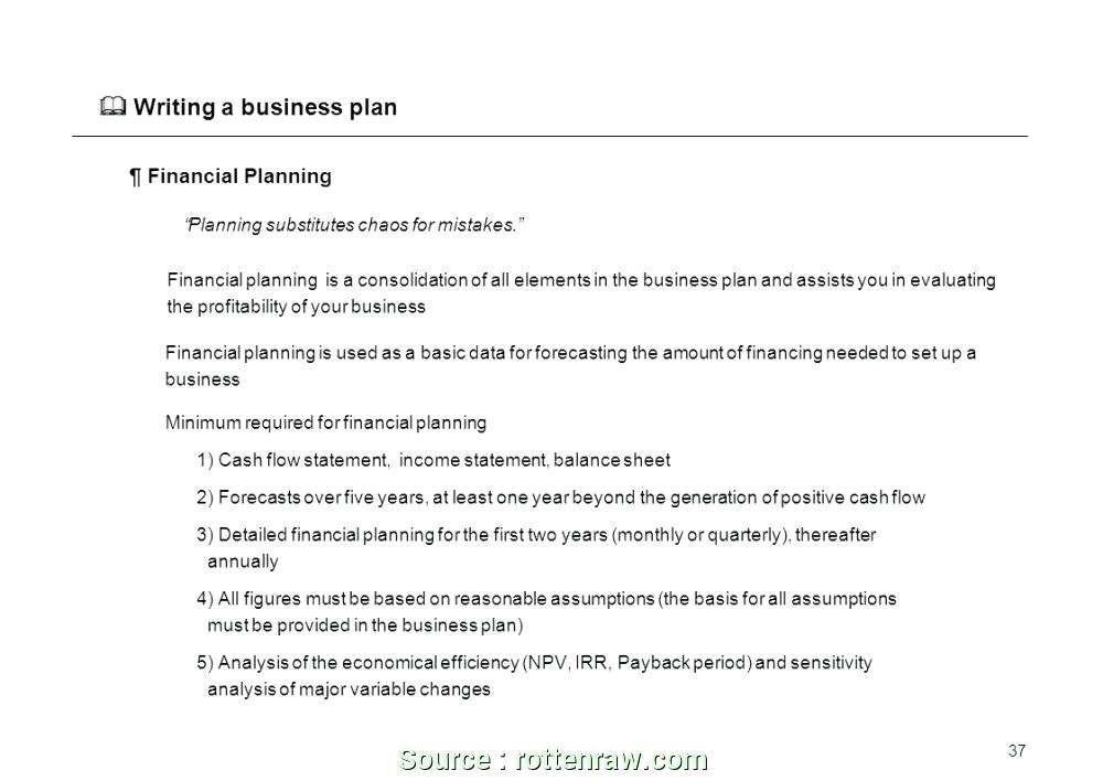 setting up a business plan
