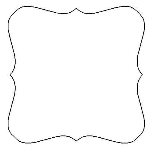 scrapbooking shape templates shtml