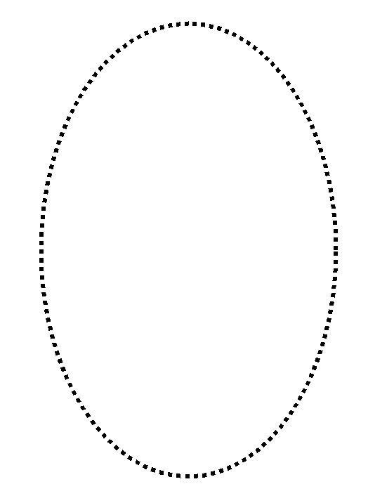 post traceable oval shapes 475381