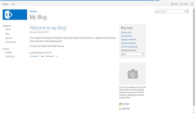 Sharepoint 2013 Blog Template Site Template Part 2 Blogs In Sharepoint 2013 or Office 365