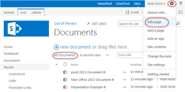 Sharepoint 2013 Document Library Template Sharepoint 2013 Document Library Template Choice Image