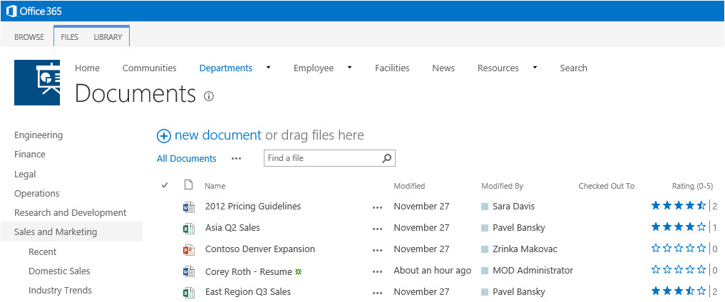 using display templates to feature new search results in sharepoint 2013