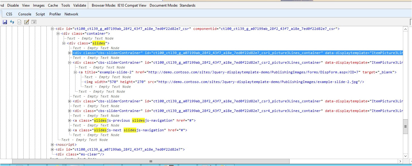 sharepoint 2013 customize display template for content by search web part cswp part 1
