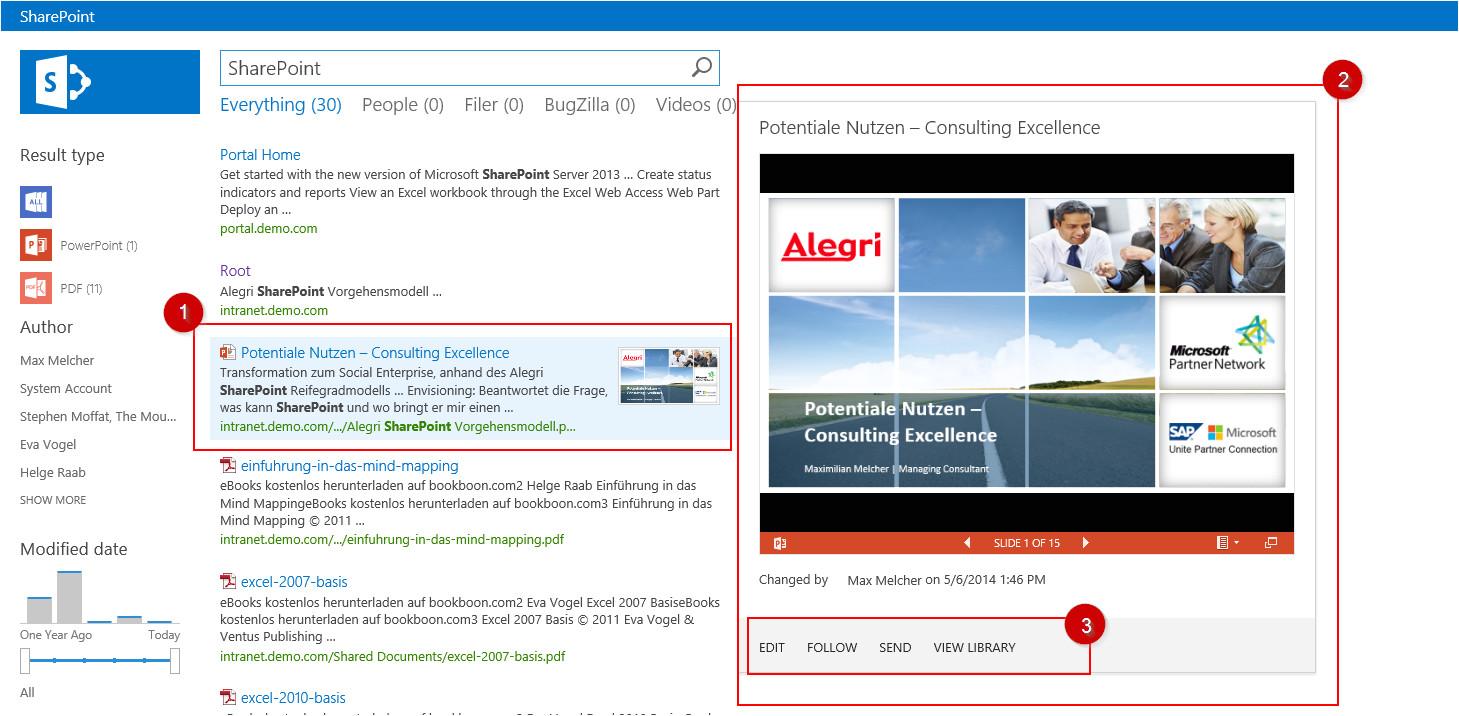 von a bis z erstellung eines display templates fuer die sharepoint suche um die eigenschaften eines dokuments sichtbar zu machen
