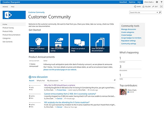 sharepoint knowledge management template