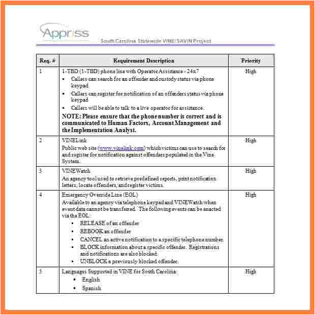 requirements gathering template free download
