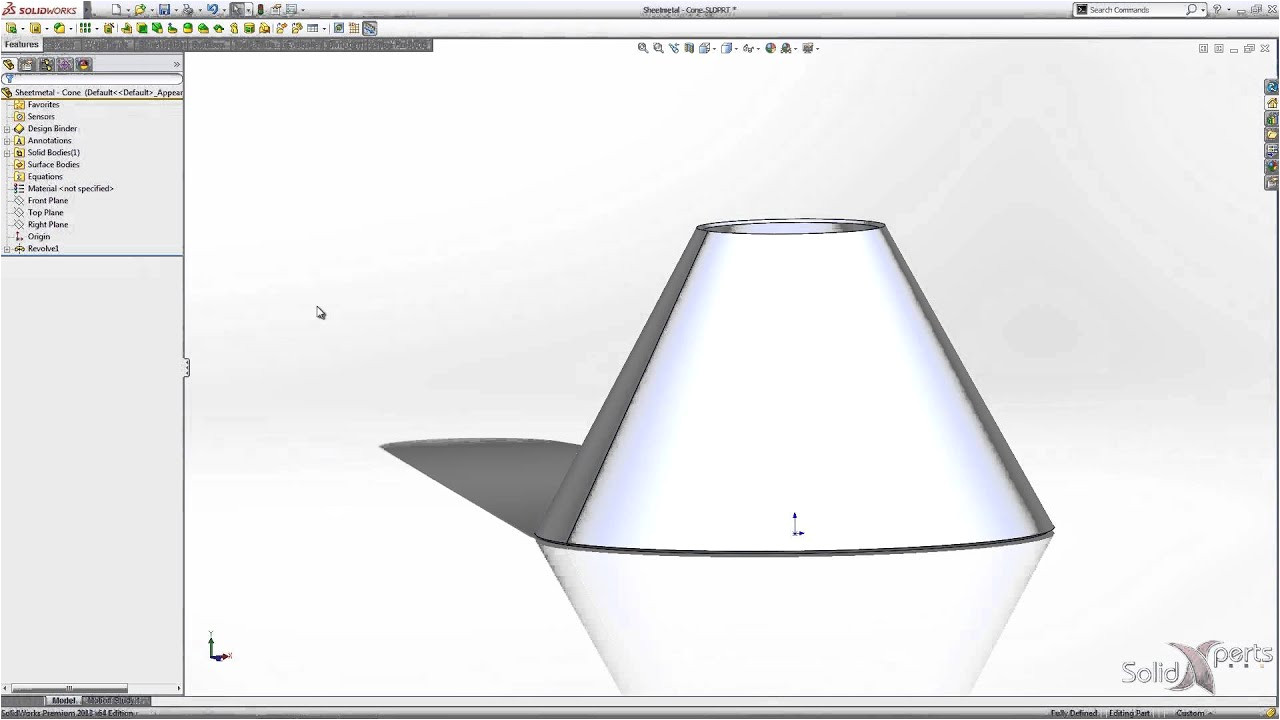 cone template calculator