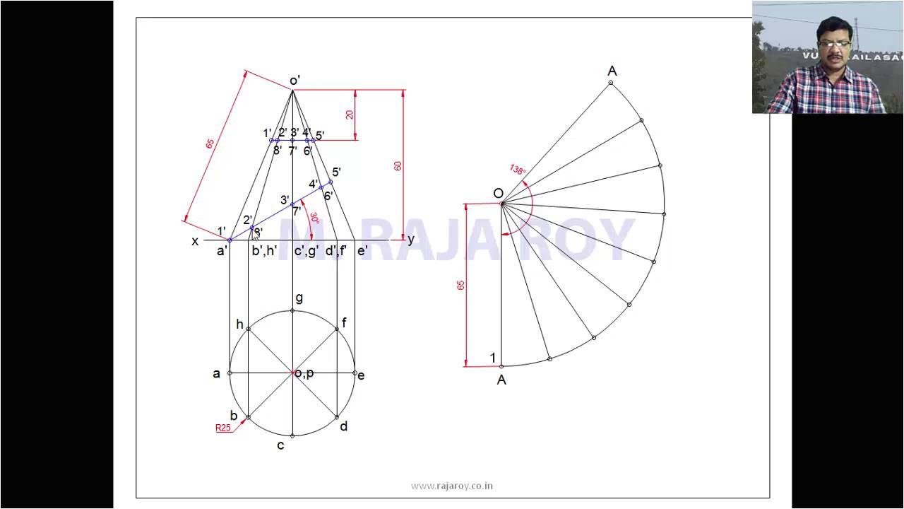 Sheet Metal Cone Template Sheet Metal Cone Layout Pattern Development Pdf Download