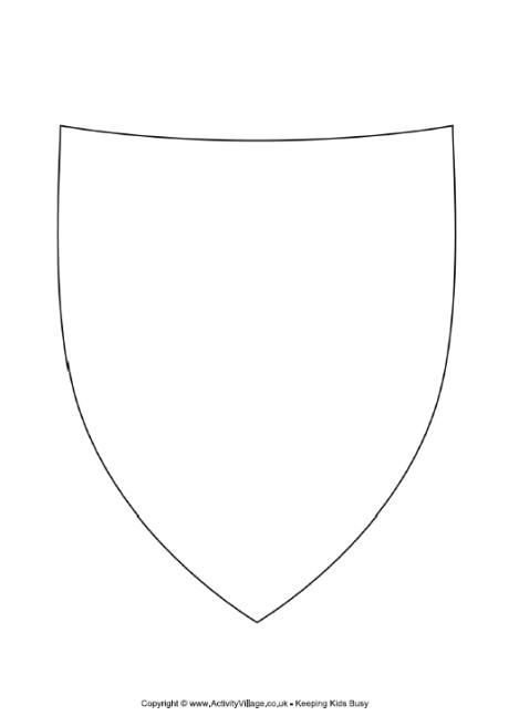 knight shield template shtml