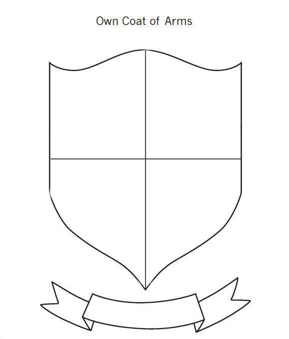 collectionbdwn blank family crest printable