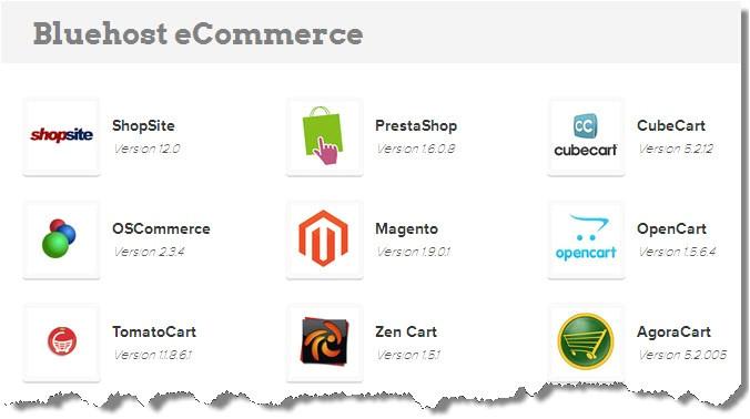 Shopsite Templates Bluehost E Commerce Hosting Better Host Review