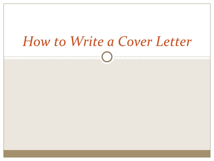 how to write a cover letter 6469747