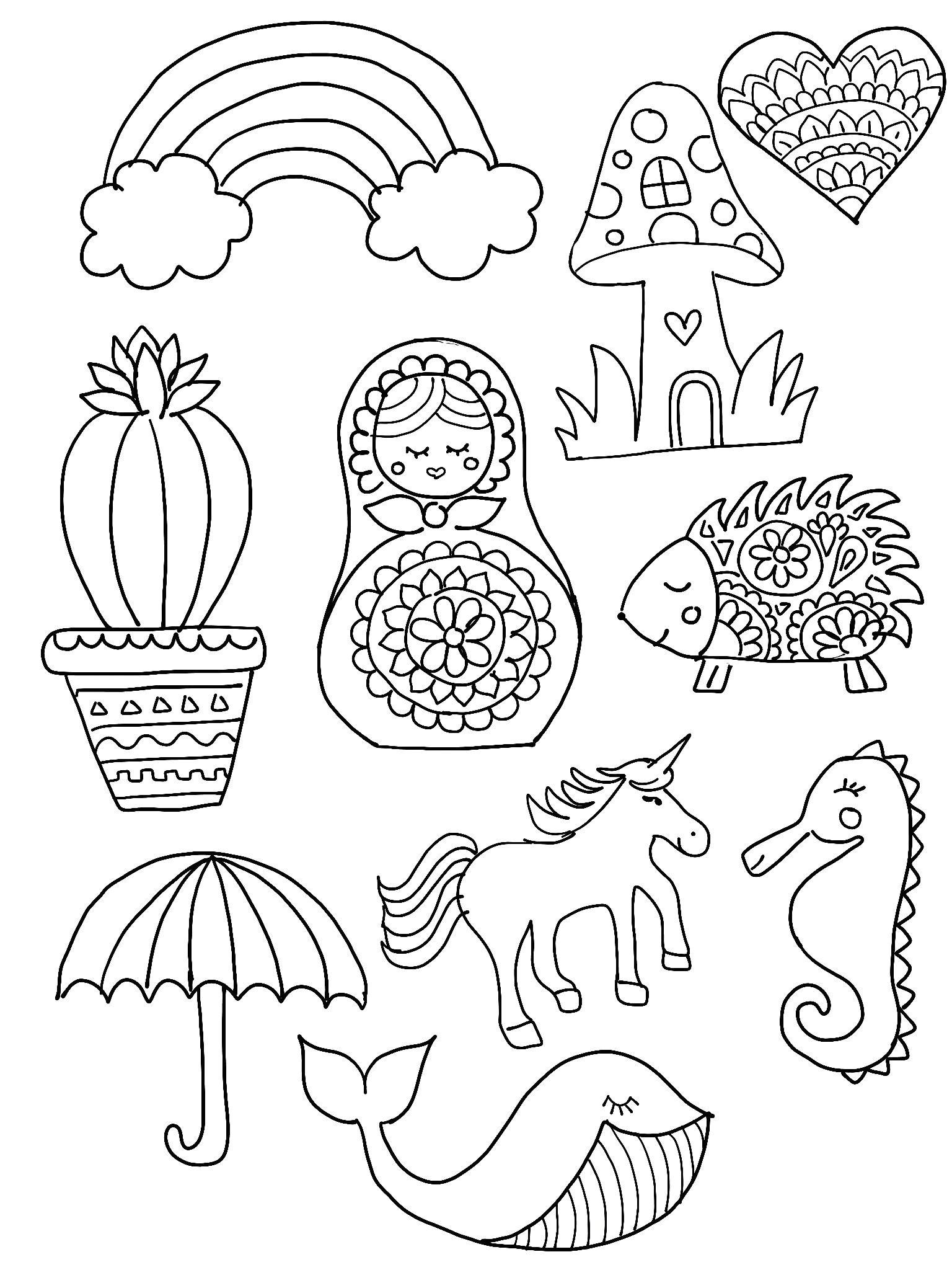 Shrinky Dink Printable Templates Diy Shrinky Dink Charms Shrinky Dinks Hedgehogs and Cacti