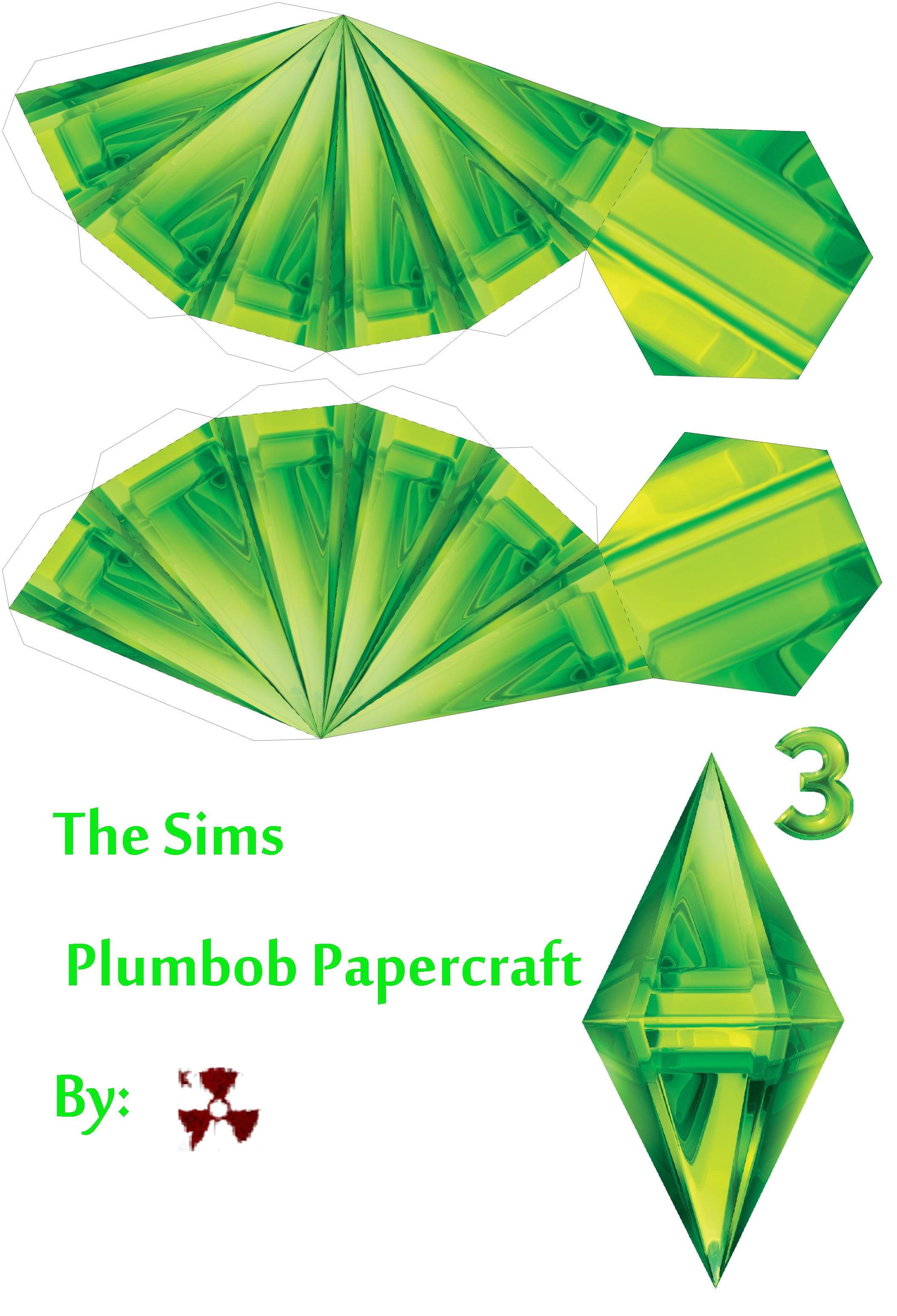 Sims Plumbob Template Quick Fun Improvised Halloween Costume the Sims by Taya
