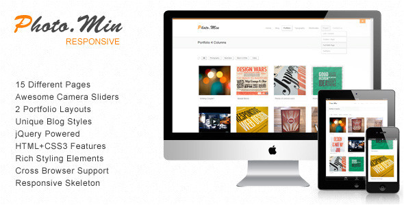 photomin responsive html template
