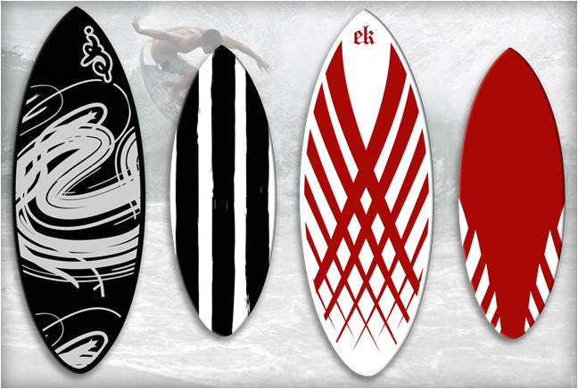ek skimboard designs