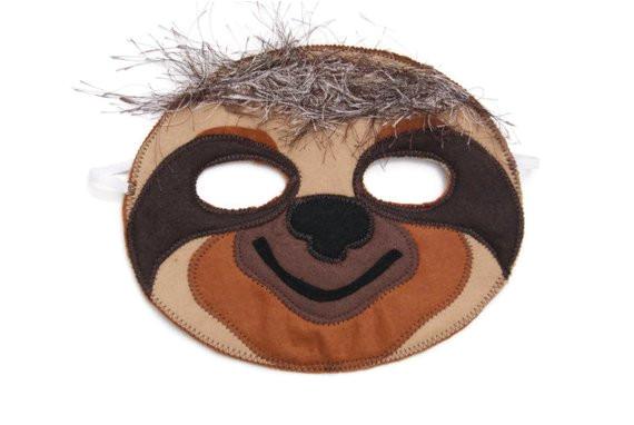 sloth mask printable shtml