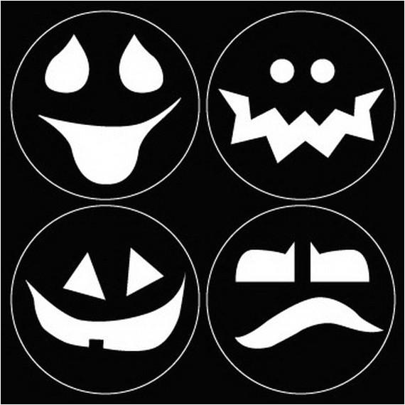 fresh ways to use halloween pumpkin carving templates