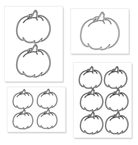 free clipart pumpkin outline printable
