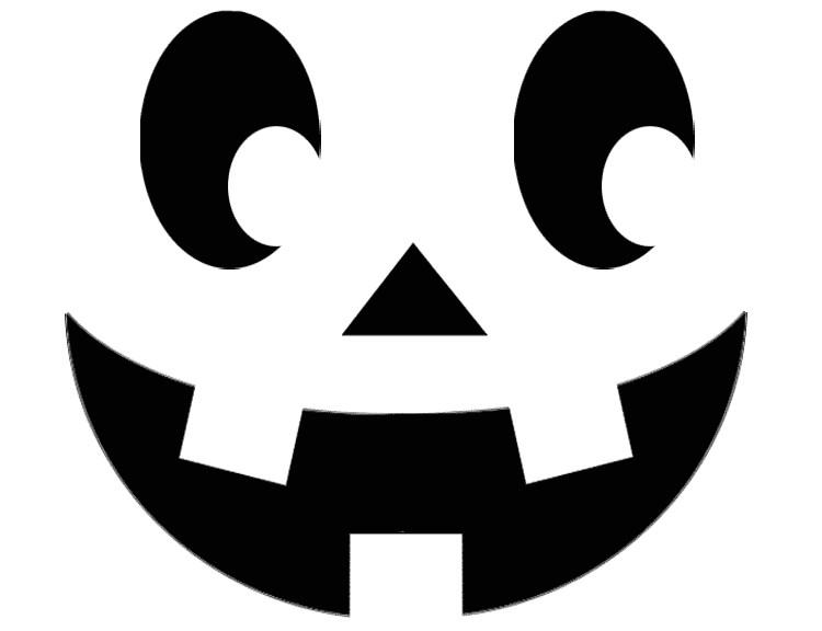 simple pumpkin carving templates