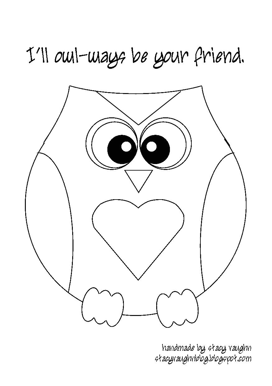 Small Owl Template Printable Owl Template for Kids