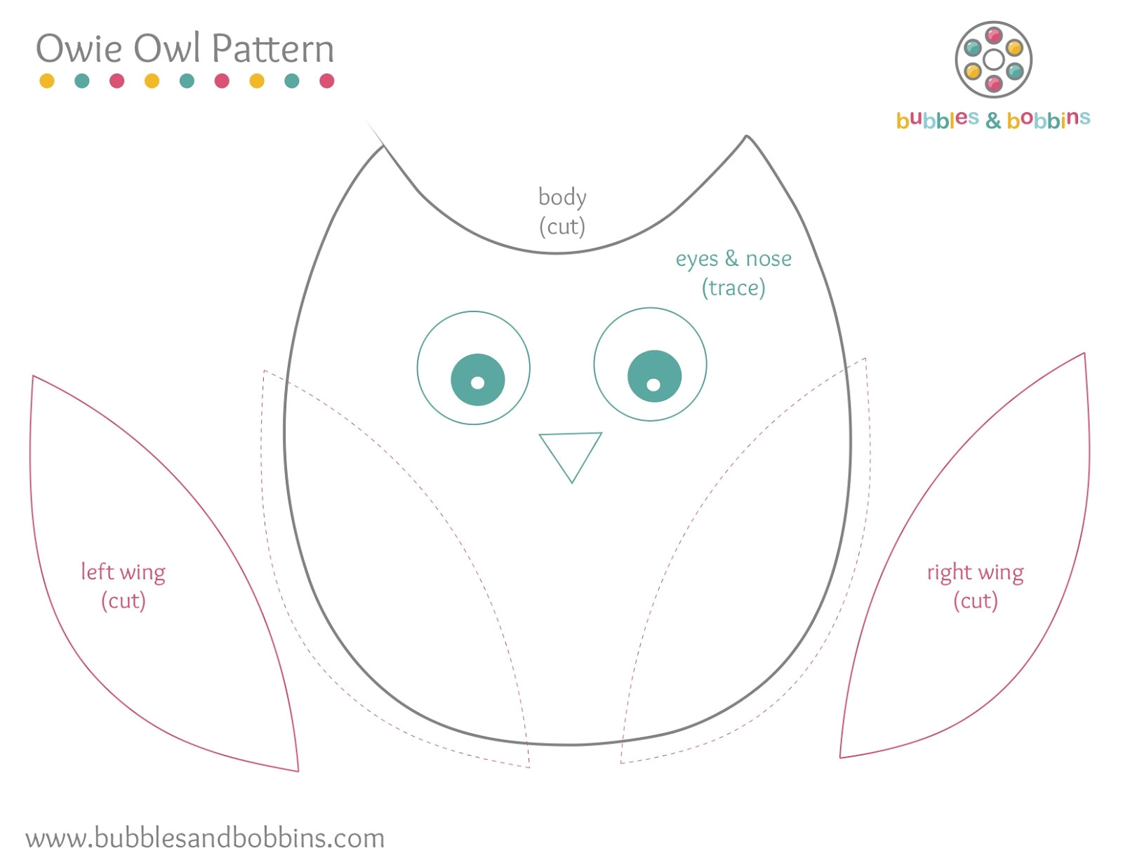 printable owl template