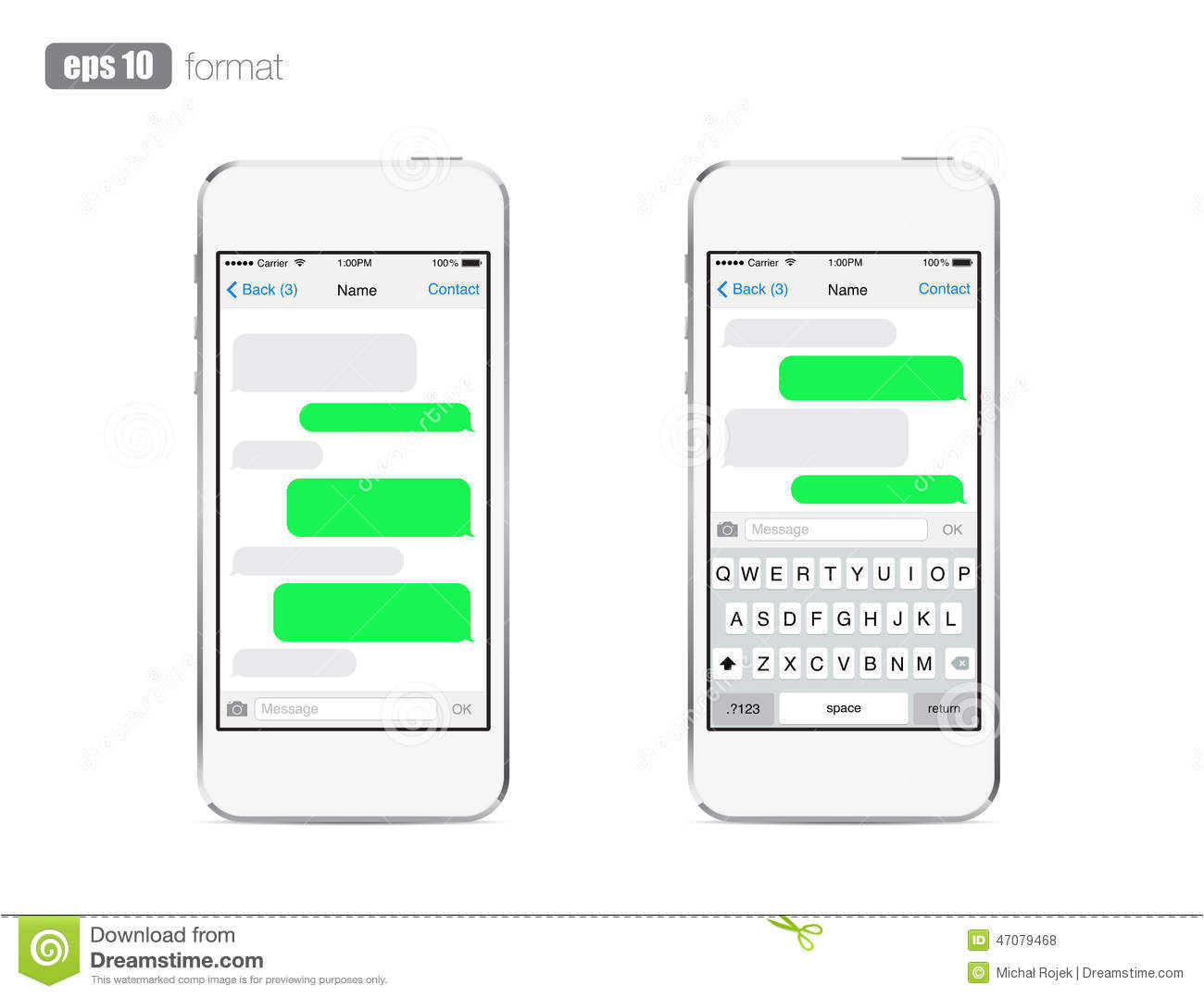 iphone 20clipart 20text 20message