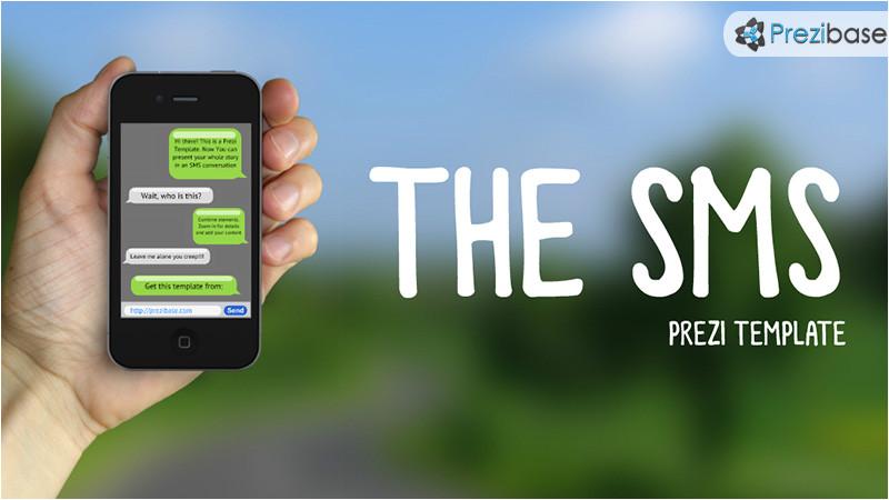 the sms prezi template
