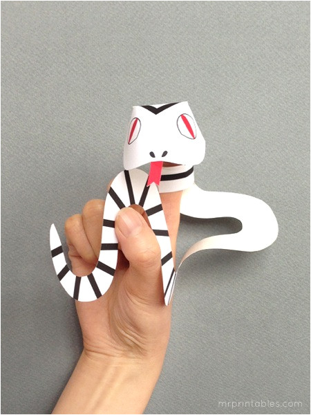 finger puppets snakes