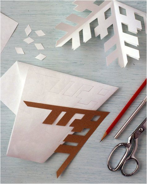 Snowflake Template Martha Stewart Frosty Banners Step by Step Diy Craft How to S and