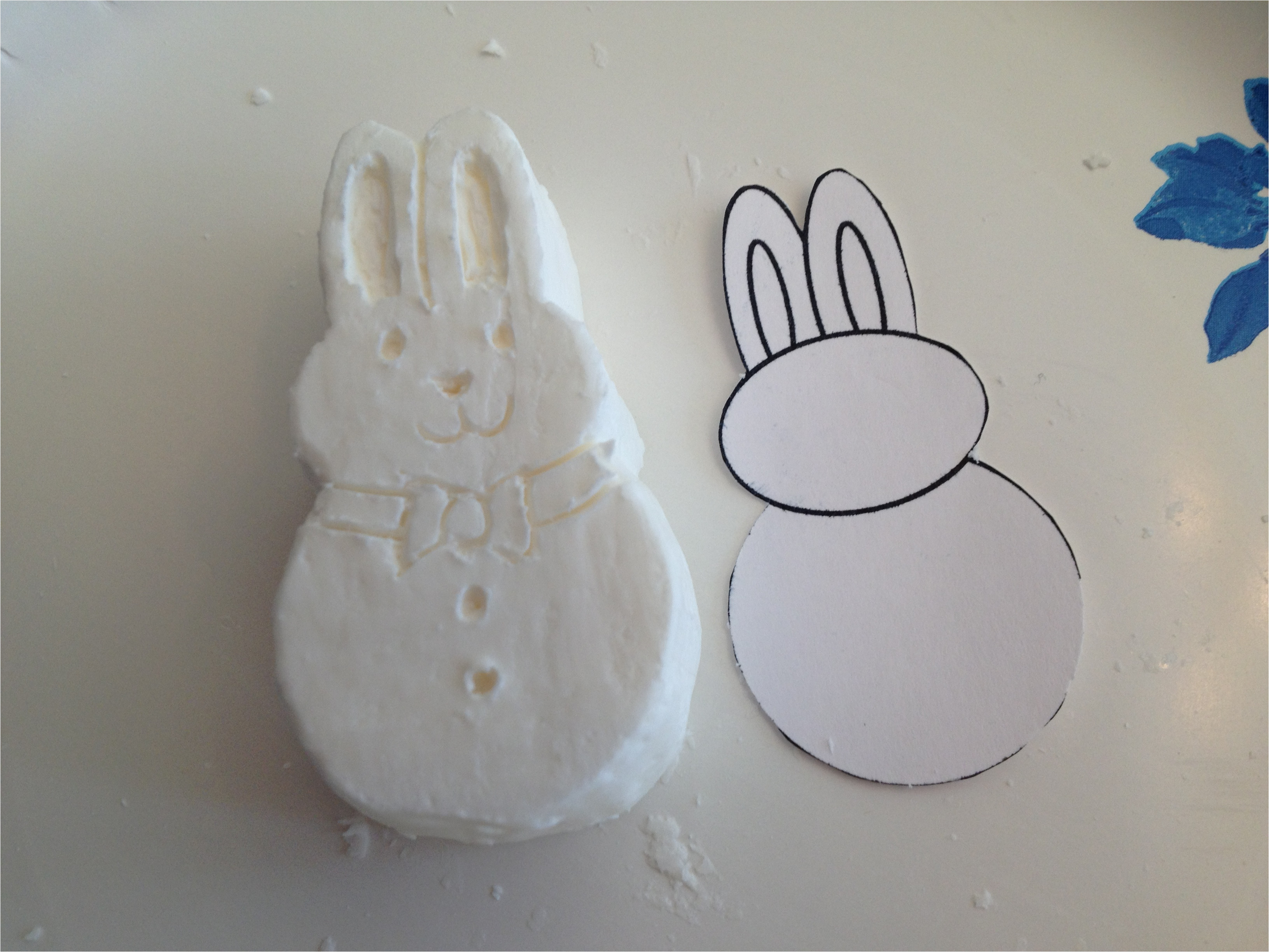 easter soap carvings