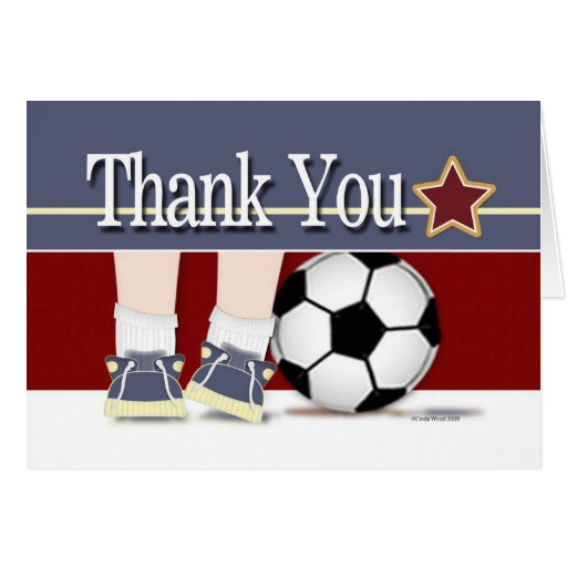 thank you soccer card template 137608724086838903