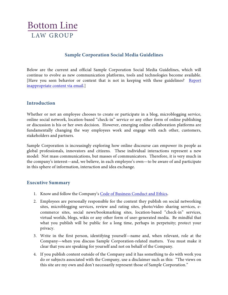 social media policy template and resources 9230642