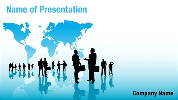 business networking powerpoint templates 02686w