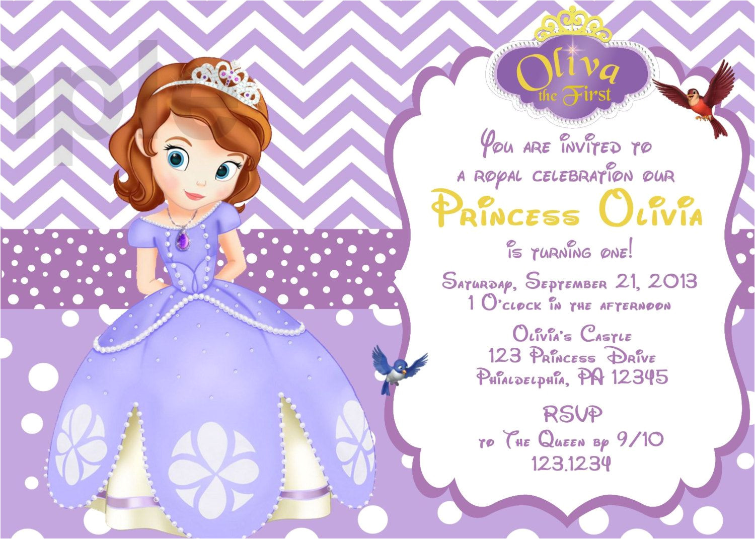 Sofia the First Free Invitation Templates Il Fullxfull 496664126 3ct1 Jpg 1500 1071 Princess