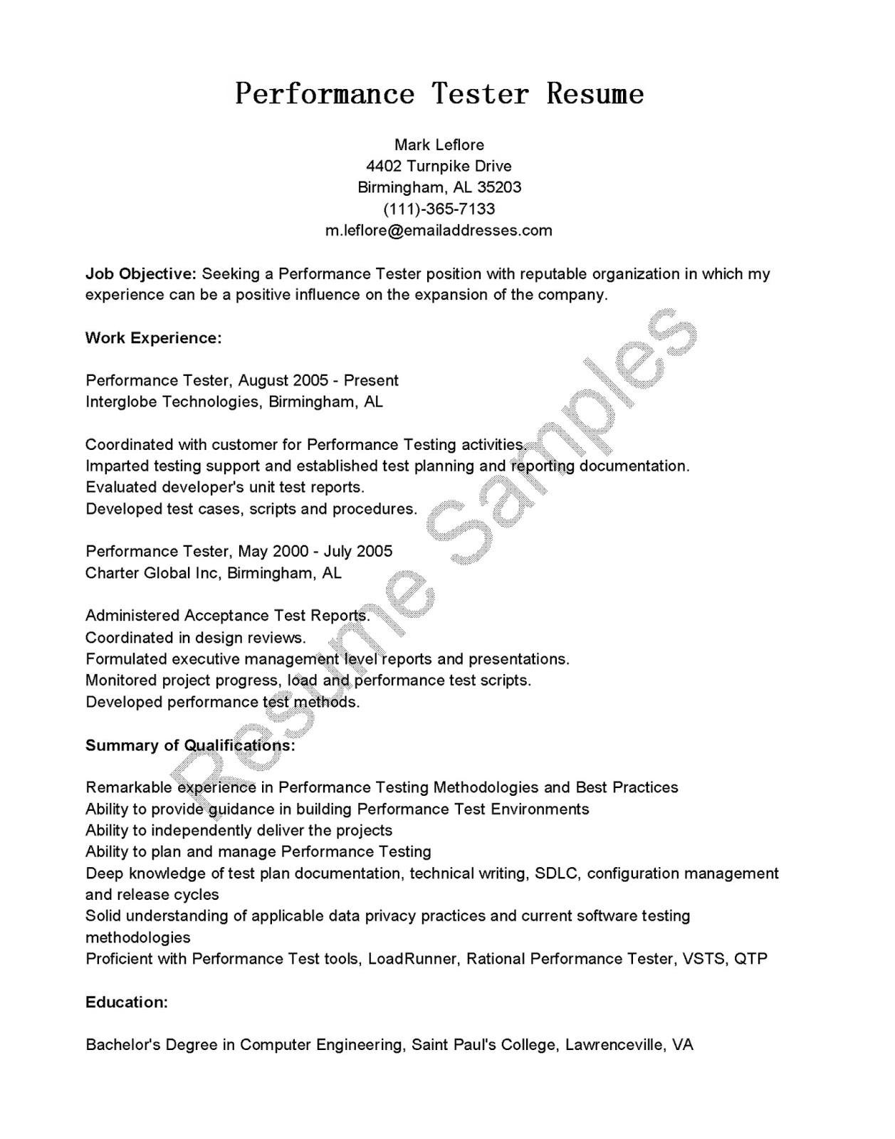 software testing resume samples for 1 year experience unique resume format for software tester awesome software testing resume
